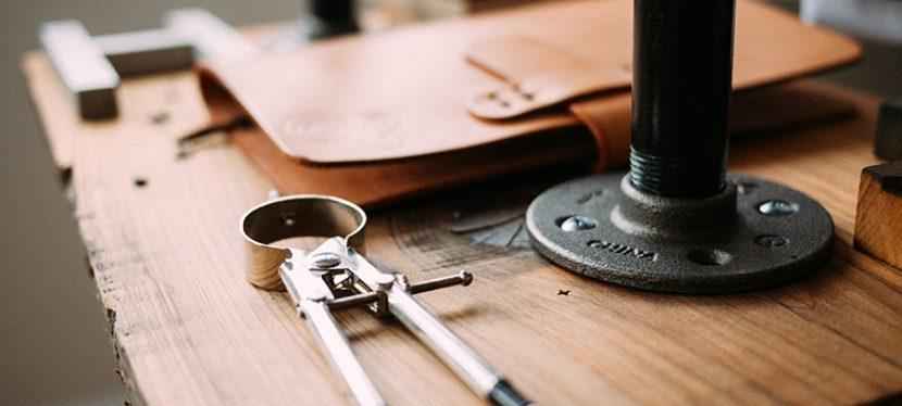Tools on desk