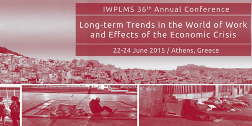 IWPLMS 36th annual conference poster