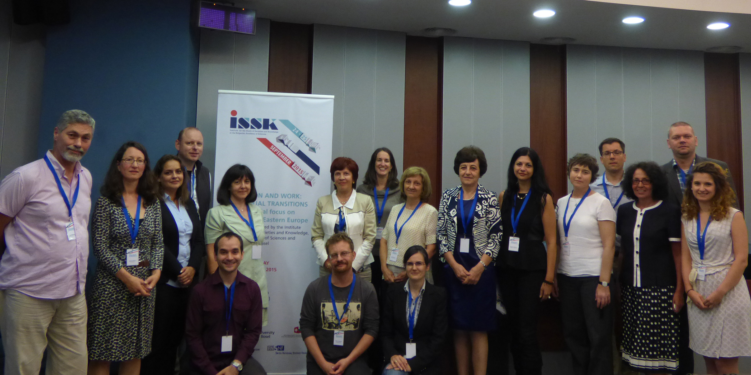 Pictures of the participants at the conference