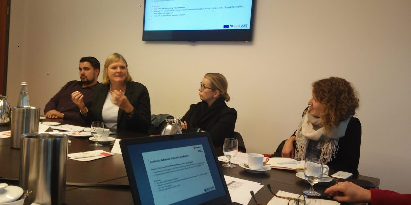 A picture from the second Negotiate national stakeholder meeting