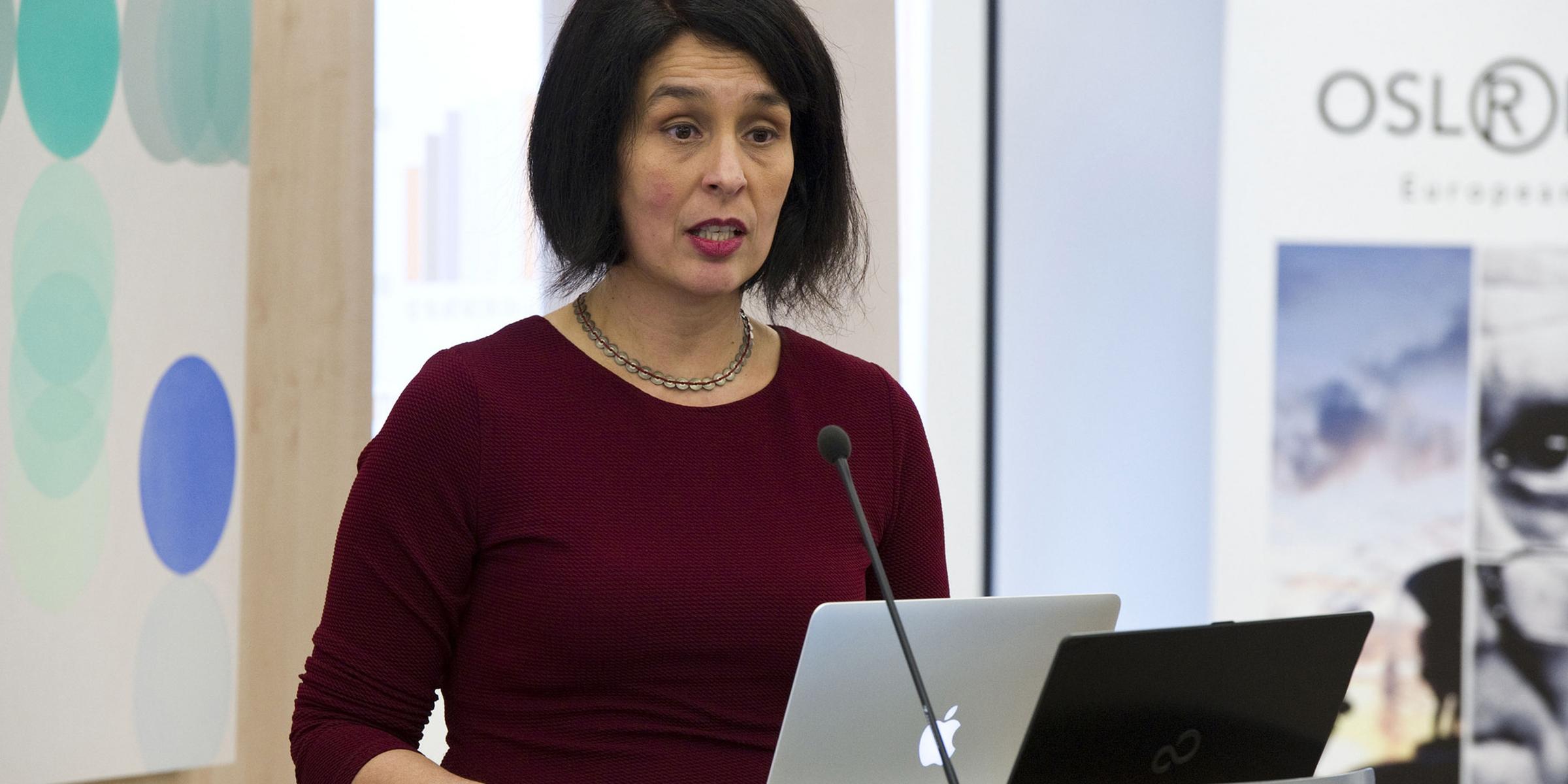 A picture of Maria Symeonaki